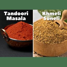 Tandoori Masala + Khmeli Suneli Pareja Perfecta