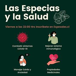 ⭐PACK BASICO⭐LAS ESPECIAS Y LA SALUD