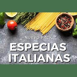 Pack Especias Italianas