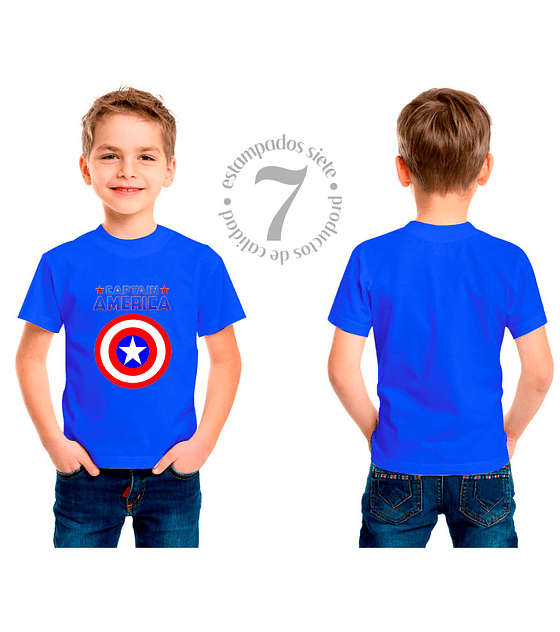 Capitan America Niñas/Niños/Jovenes