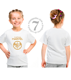 Captain Marvel Niñas/Niños/Jovenes