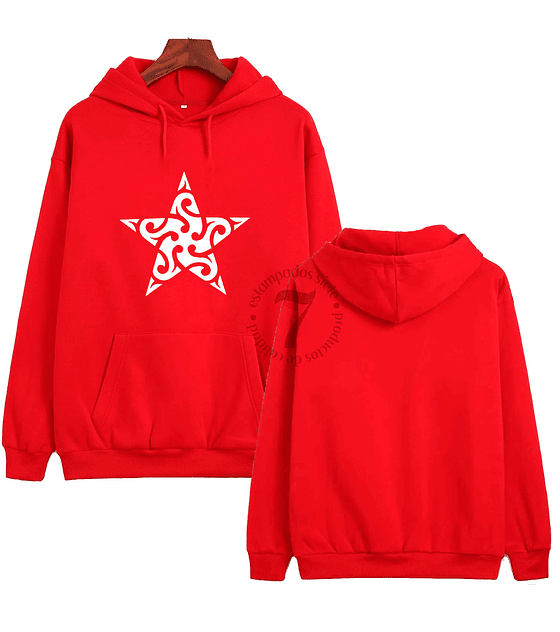Poleron Canguro Estrella tribal