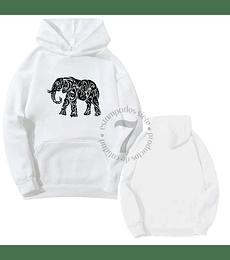 Poleron Canguro Elefante Tribal