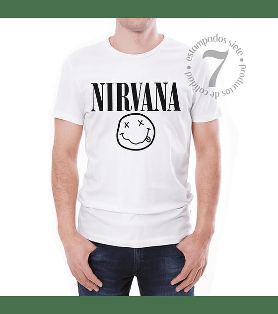 Polera Manga Corta Nirvana