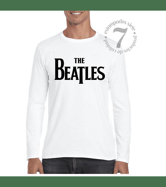 Polera Manga Larga The Beatles