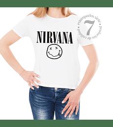 Polera Manga Corta Dama Nirvana