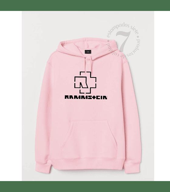 Poleron Canguro Rammstein Niñas/Niños/Jovenes
