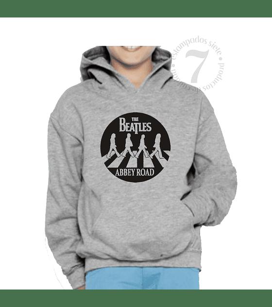 Poleron Canguro The Beatles Silueta Niñas/Niños/Jovenes