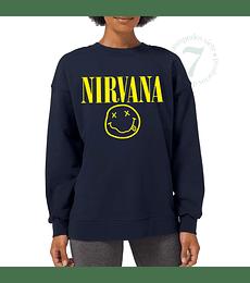 Poleron Cuello Polo Nirvana