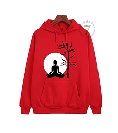 Poleron Canguro Buda Meditacion