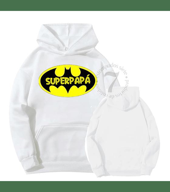 Poleron Canguro Batman Superpapá