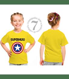 Capitan America Superhija/o  Niñas/Niños/Jovenes