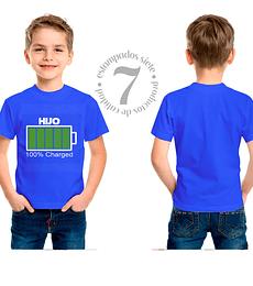 100% Charged Hijo Niños/Jovenes