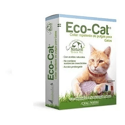 Eco-cat Collar Repelente De Pulgas 1 Unid