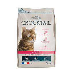 Crocktail Gato Adulto Con Pavo