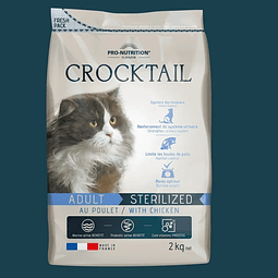 Crocktail Gato Adulto Esterilizado / Light