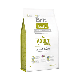 Brit Care Adulto Raza Pequeña Cordero y Arroz