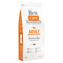 Brit Care Adulto Raza Mediana Cordero y Arroz