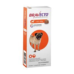 Bravecto 4,5 - 10Kg Para Perros