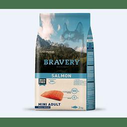 Bravery Perro Adulto Mini Sabor Salmon