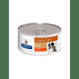 Lata Hill's PRESCRIPTION DIET a/d Alimento para Perros y Gatos con Pollo