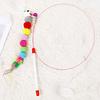 Caña Metálica con juguete concuna con plumas