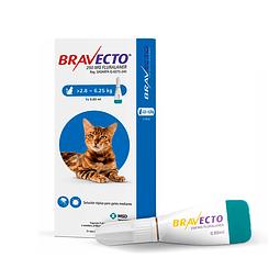 Bravecto 2,8 a 6,25 Kg Para Gato