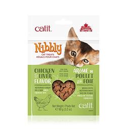 Nibbly Premios sabor Higado de Pollo