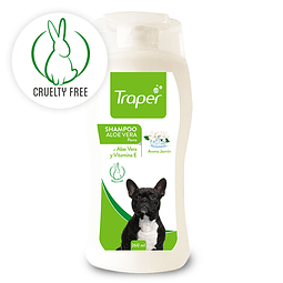 Traper shampoo para perros aloe vera 260 ml