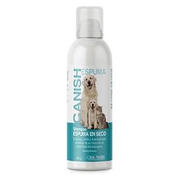Canish Shampoo Espuma en Seco 160 gr