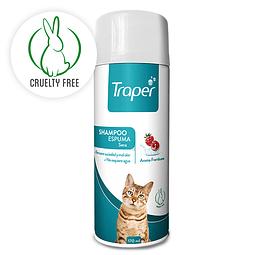 Traper shampoo espuma para gatos 170 ml