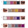 Paleta de Sombras Brillos Metalizados Mix