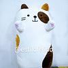 Peluche Almohada gato 38 cm aprox