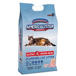 American Litter Ultra Odor Seal aroma Talco