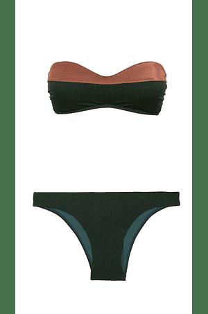 Bikini Amy Bandeau Pine