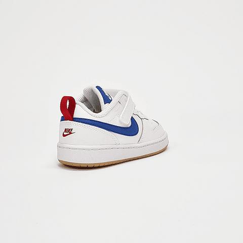 Nike - Zapatilla Infantil Court Borough White