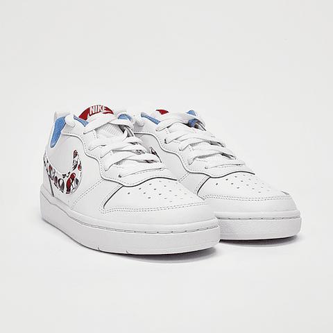 Nike - Zapatilla Juvenil Borough Low 2 White