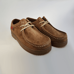 Hush Puppies - Zapato Mujer Rootbeer