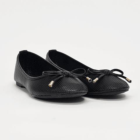 Via Rosmini - Zapato Ballerina Mujer Black
