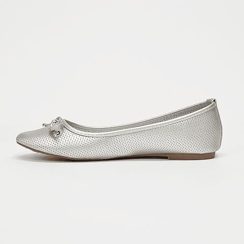 Via Rosmini - Zapato Ballerina Mujer Silver