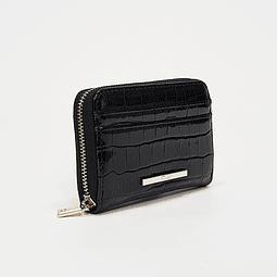 Gacel - Billetera Mujer Monedero Negro