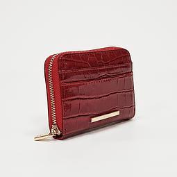 Gacel - Billetera Mujer Monedero Rojo