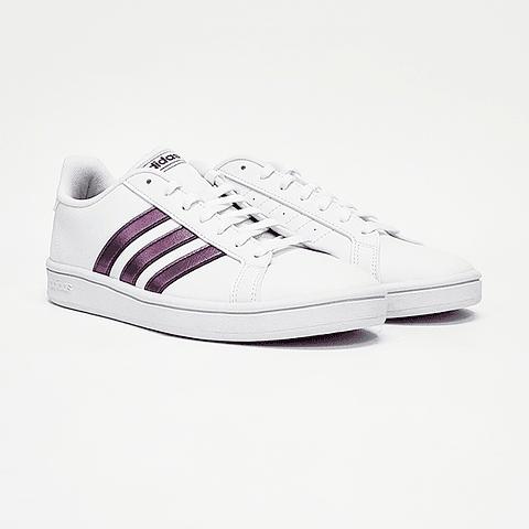 Adidas - Zapatilla Mujer Grand Court Base White
