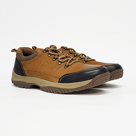 Steem Land - Zapato Hombre Brown