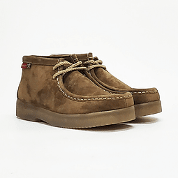 Hush Puppies - Zapato Mujer Sioux Rootbeer