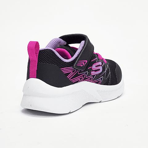 Skechers - Zapatilla Niña Microspec Negra