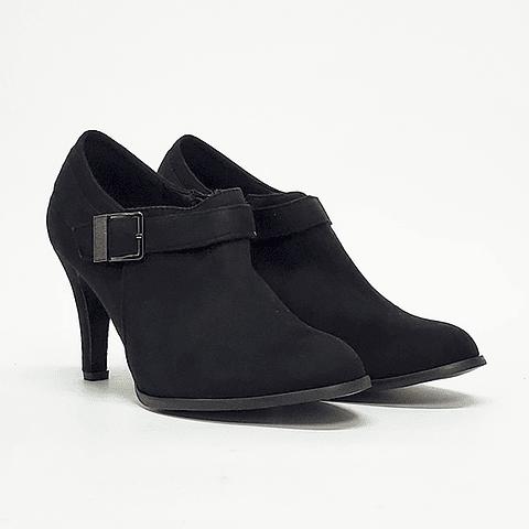 Bonny Franco - Zapato Mujer Lamy Negro