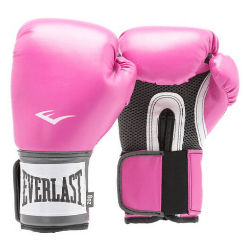 EVERLAST - GUANTE BOX TRAINING 12 OZ ROSADO