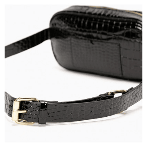 Gacel - Banano Cartera Belt Bag Negro