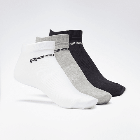 Reebok - Calcetines Act Core Low Cut Sock 3 Pares